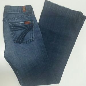 SEVEN for all mankind size 26 jeans